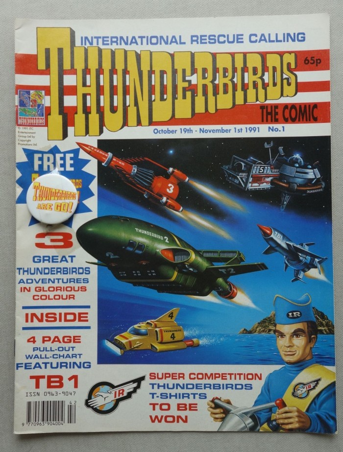 Thunderbirds Issue One - cover dated October/November 1991