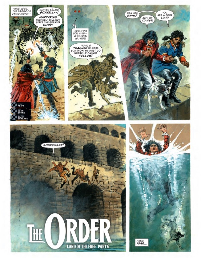 2000AD Prog 2189 - The Order