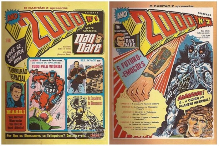 Captain Z Presents 2000AD - #1 and #2