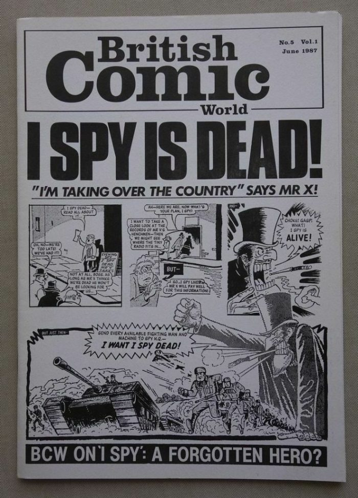 This issue of British Comic World No. 5, published in 1987, is attracting a lot of interest
