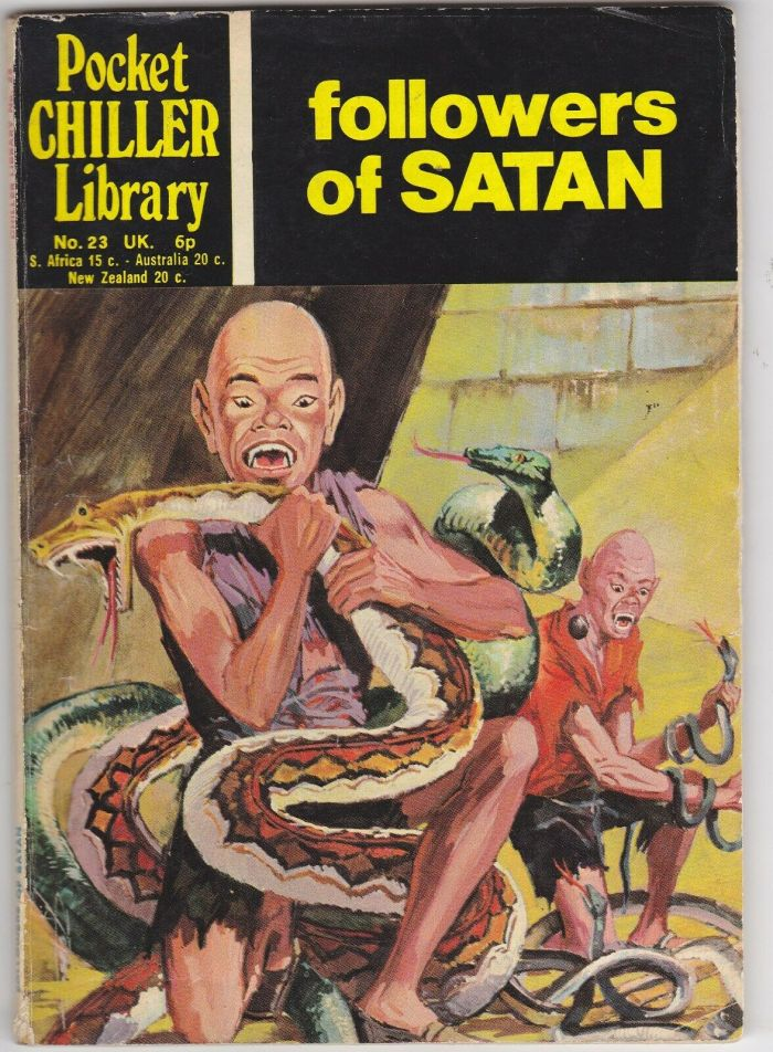 Pocket Chiller Library No. 23 - The Followers of Satan