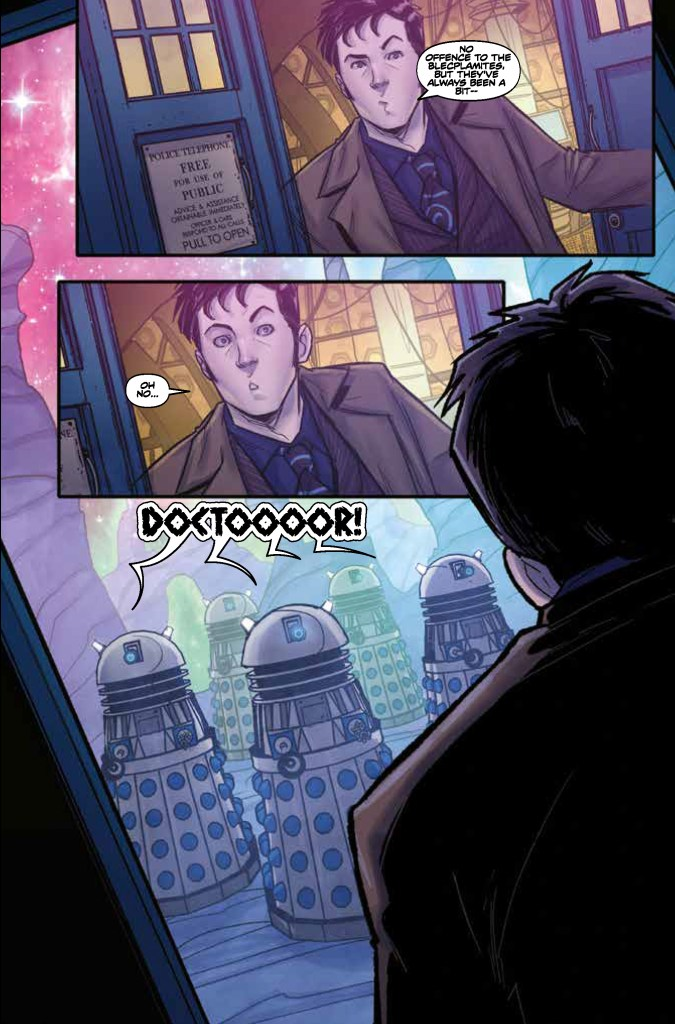 Doctor Who: Time Lord Victorious #1 - Sample Art 2