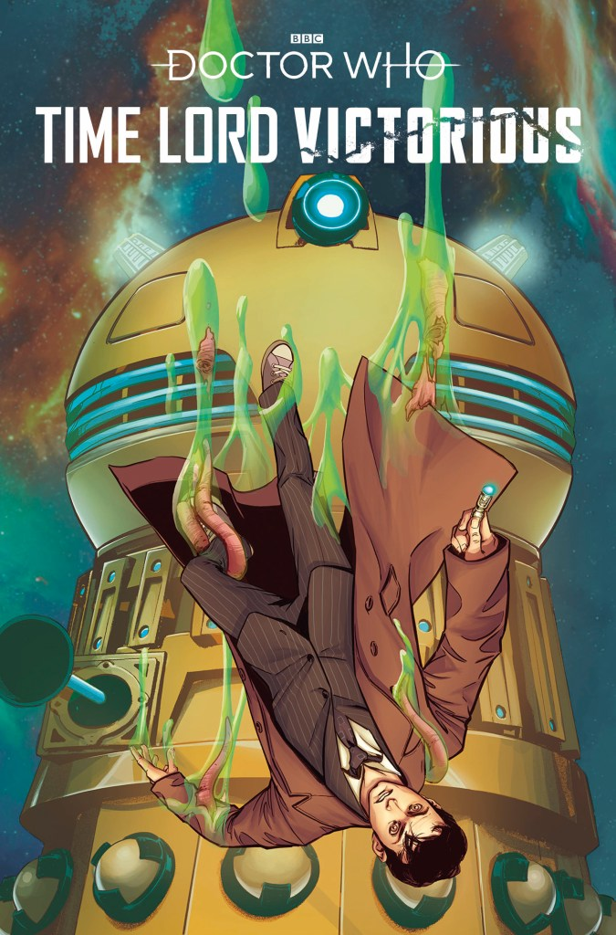 Doctor Who: Time Lord Victorious #1 - Cover B by Priscilla Petraites