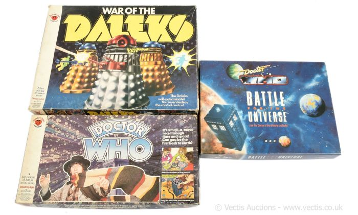 Doctor Who Board Games