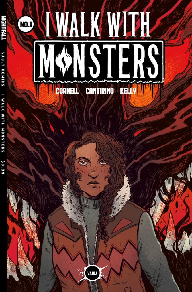 I Walk With Monsters #1 - Regular Cover by Cantirino and Kelly