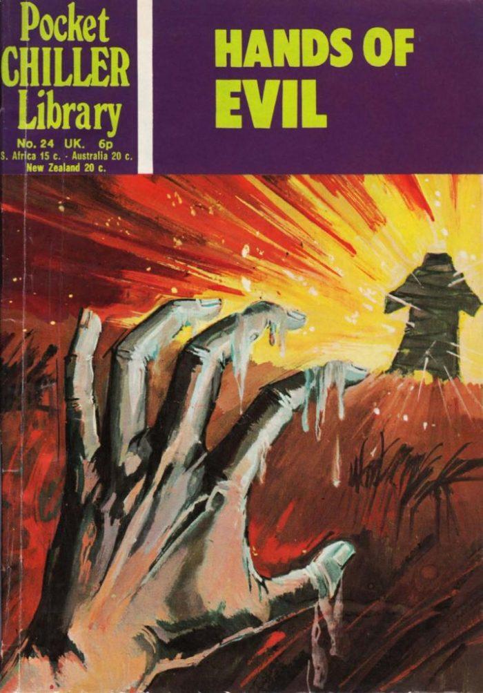 Pocket Chiller Library No. 24 - Hands of Evil