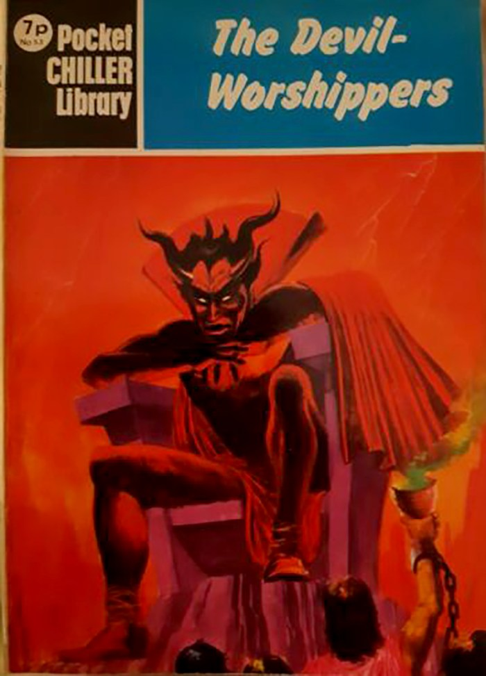 Pocket Chiller Library 53 - The Devil-Worshippers