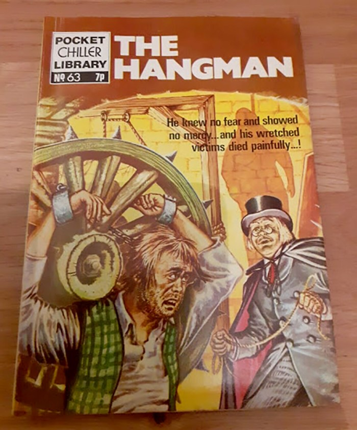Pocket Chiller Library 63 - The Hangman