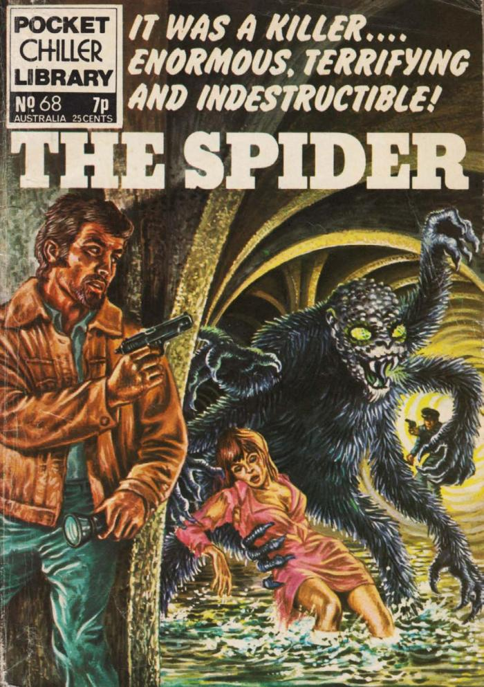 Pocket Chiller Library 68 - The Spider