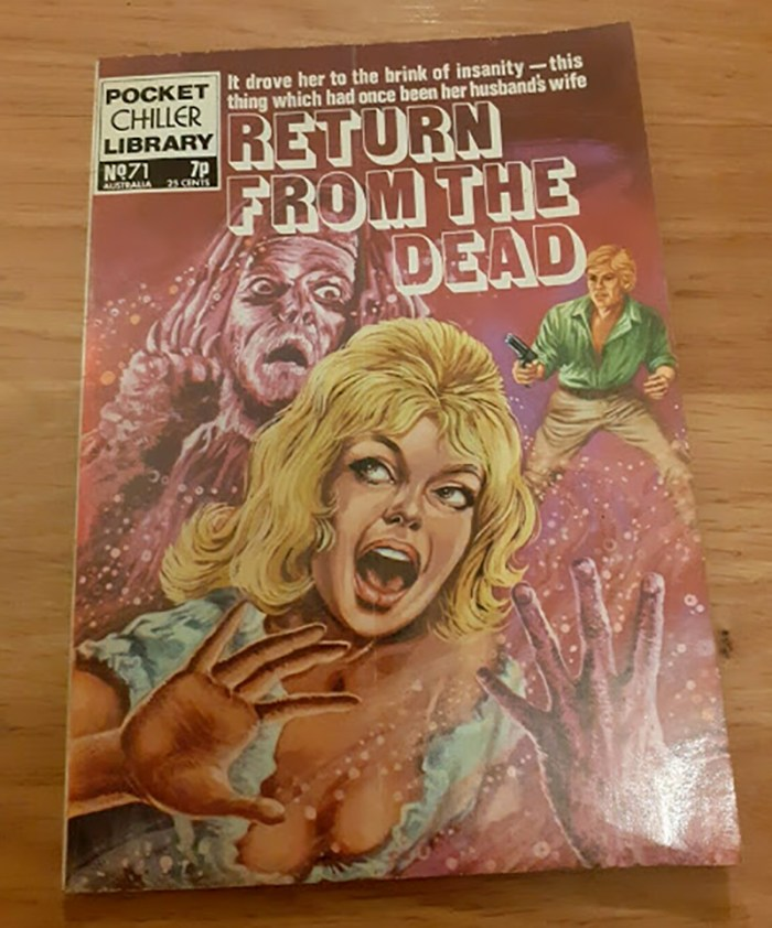 Pocket Chiller Library 71 - Return from the Dead
