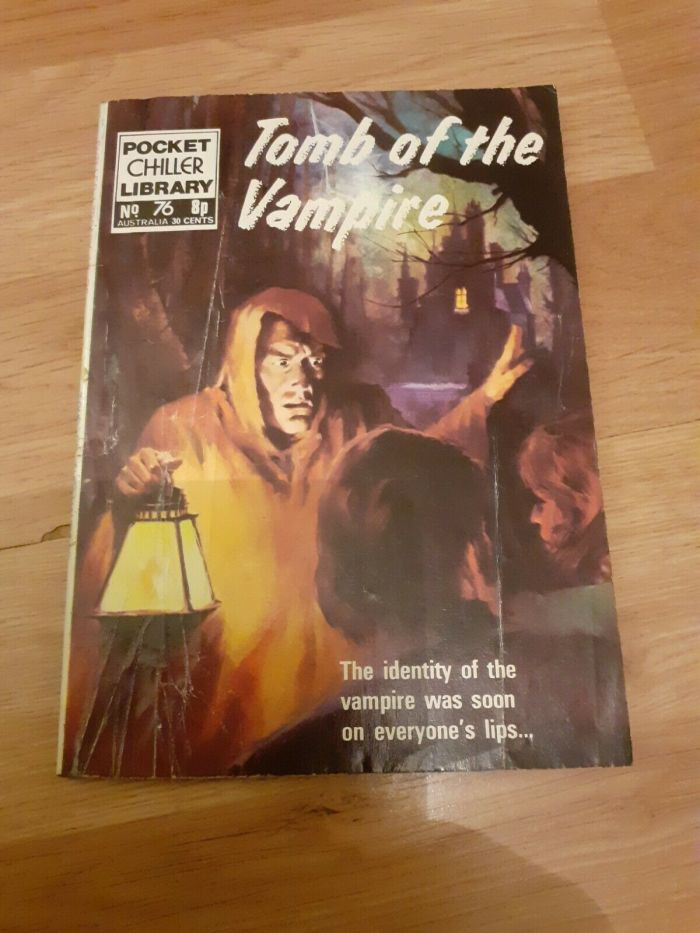 Pocket Chiller library 76 - Tomb of the Vampire