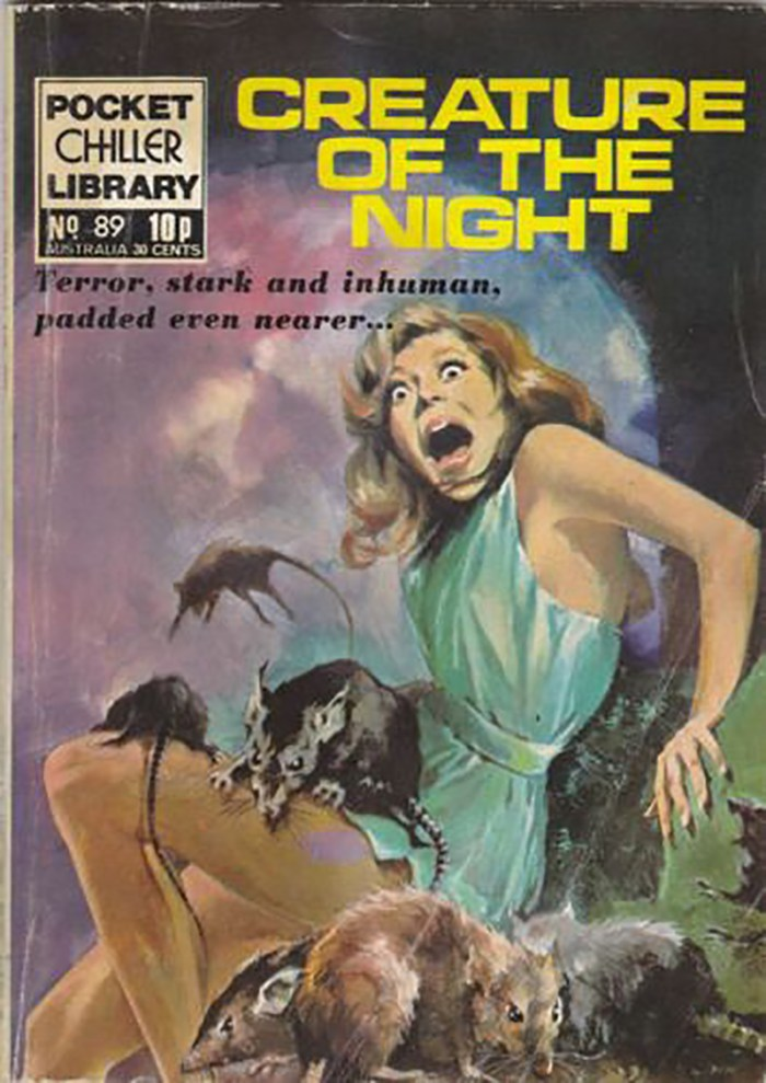 Pocket Chiller library 89 - Creature of the night