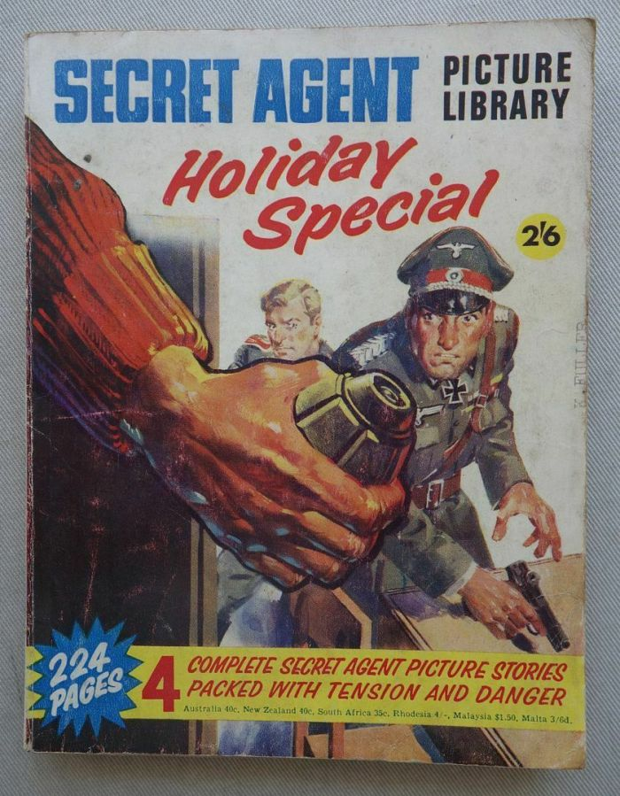 Secret Agent Picture Library Summer-Special 1968