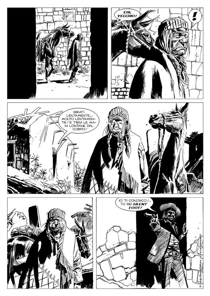 Tex Albo Speciale #36 - art by art by Massimo Carnevale