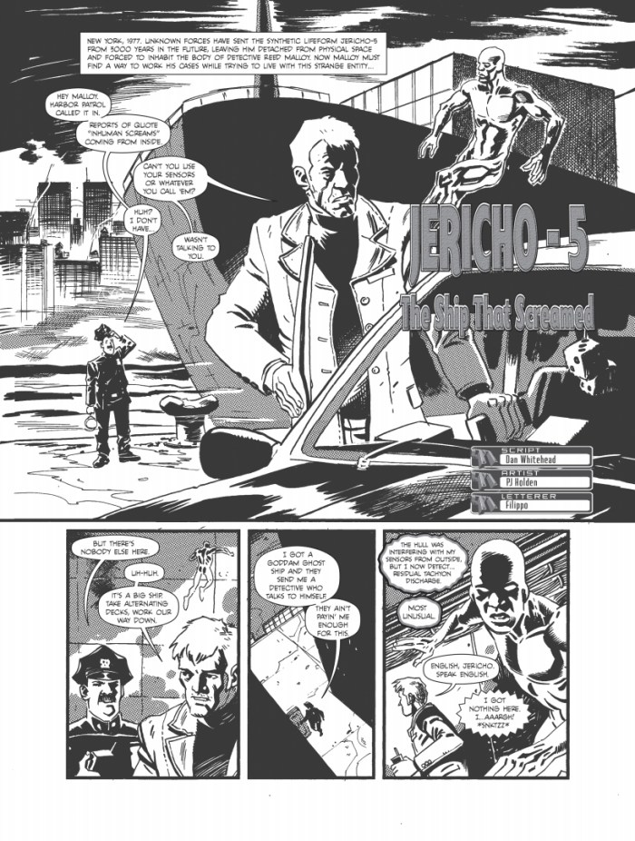 """The77 - Summer Special 2020 - """"Jericho-5"""", by Dan Whitehead and PJ Holden"""