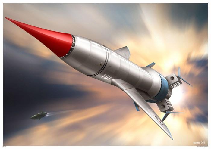 Thunderbird 1 by Rodrigo Barraza - Art Print
