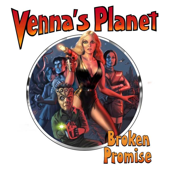 Venna's Planet - Broken Promise - Cover