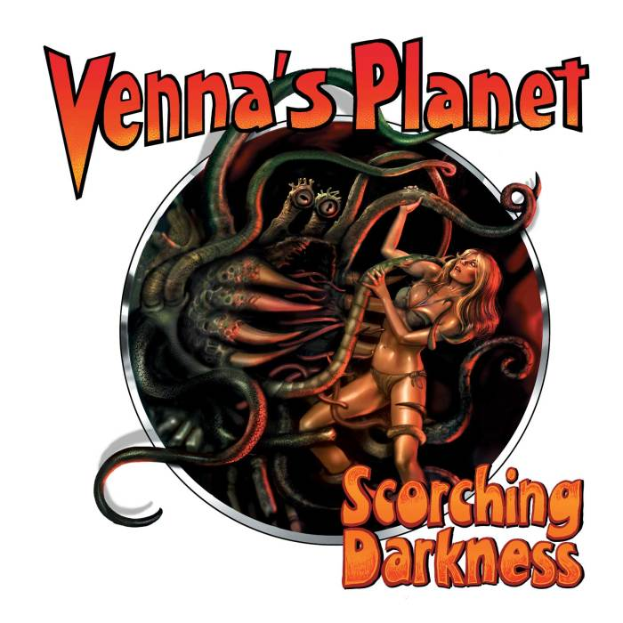 Venna's Planet Book 2 - Scorching Darkness