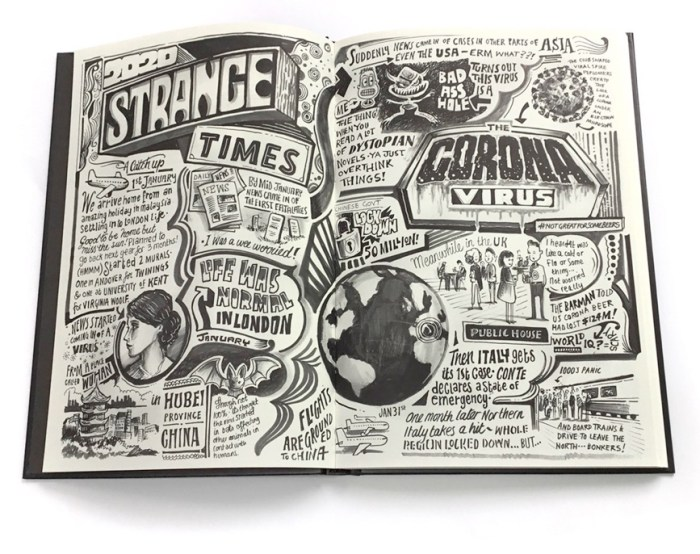 The Corona Diary by Vic Lee