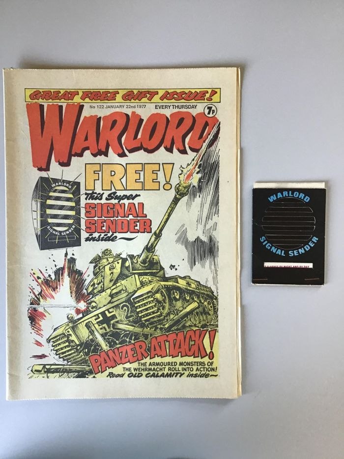 Warlord 122 - With Free Gift
