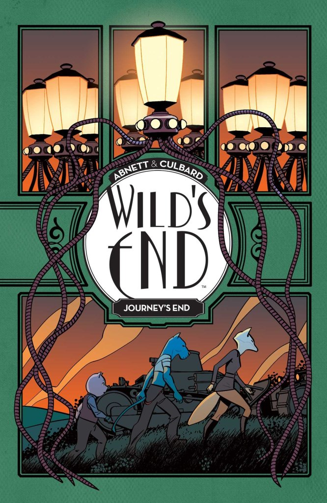 Wild's End - Journey's End - Cover