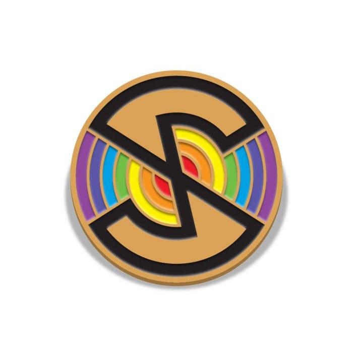 Captain Scarlet Spectrum Logo Badge by Florey