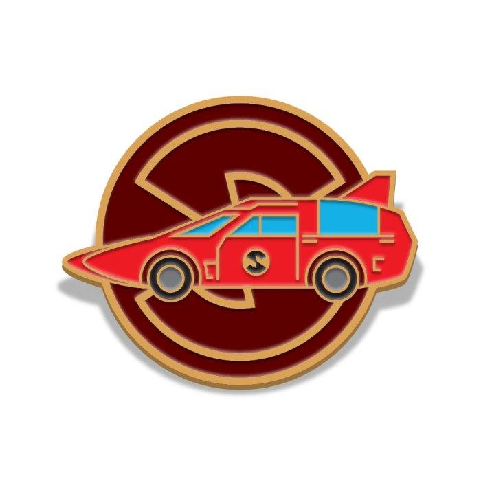 Captain Scarlet Spectrum Patrol Car Badge by Florey