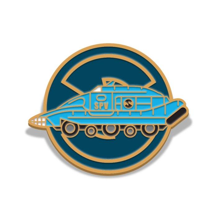 Captain Scarlet Spectrum Pursuit Vehicle Badge by Florey