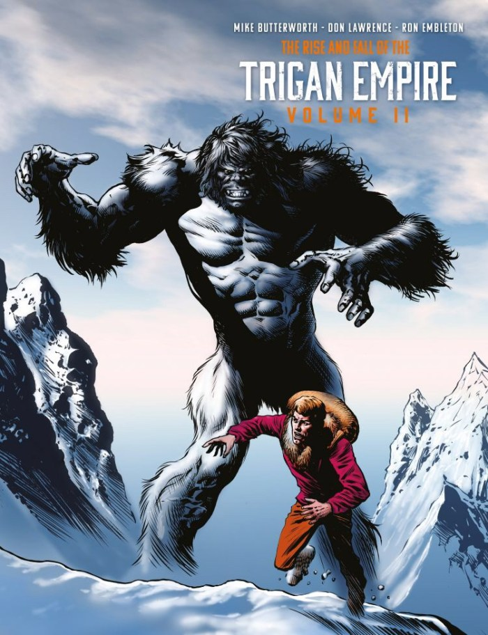 The Rise and Fall of the Trigan Empire Volume Two: Limited Edition Hardcover - Cover