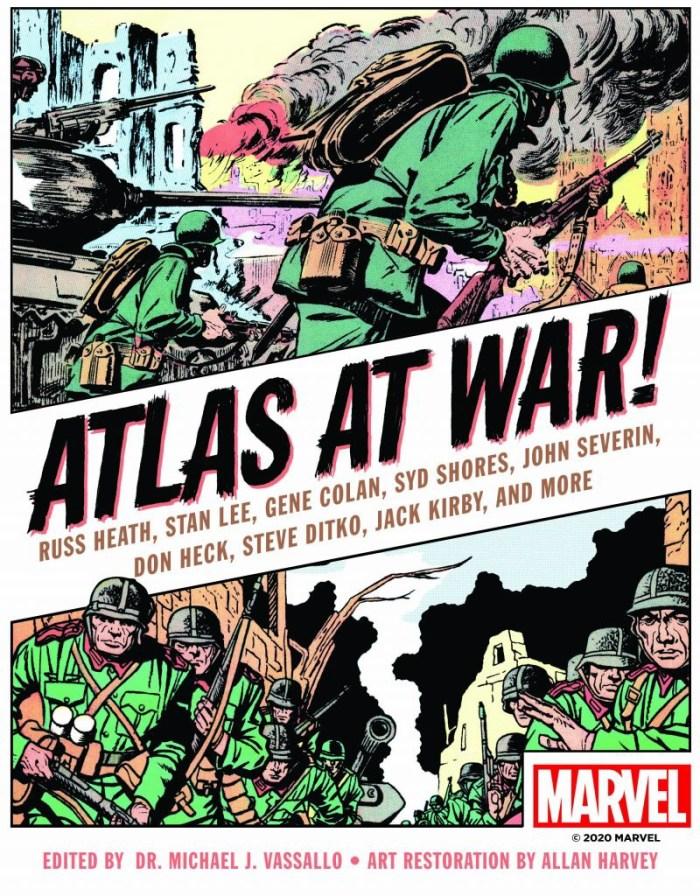 Atlas at War! - Cover