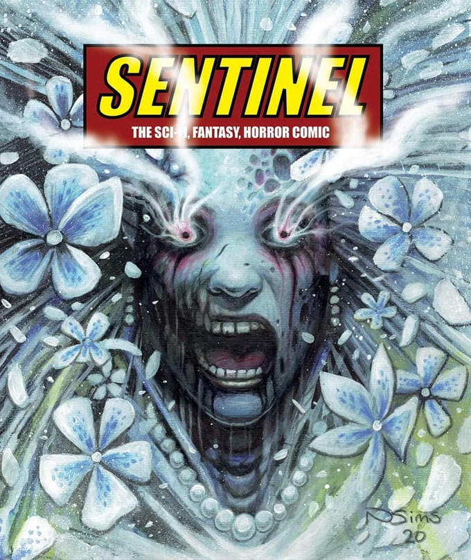 Sentinel Issue 4 - Misty Moore - Limited Edition cover by Neil Sims