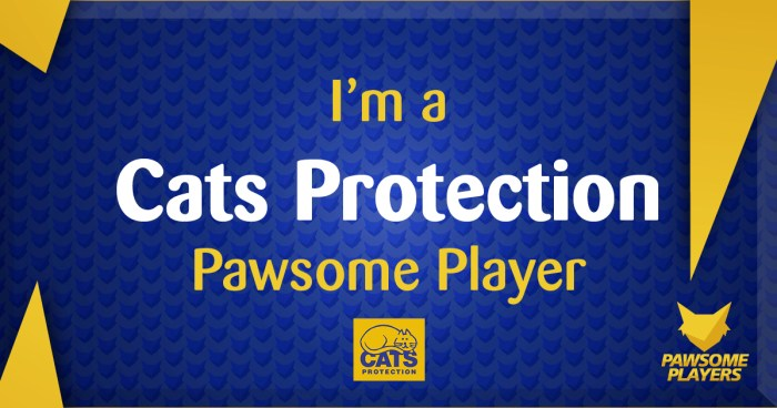 Cats Protection Pawsome Players