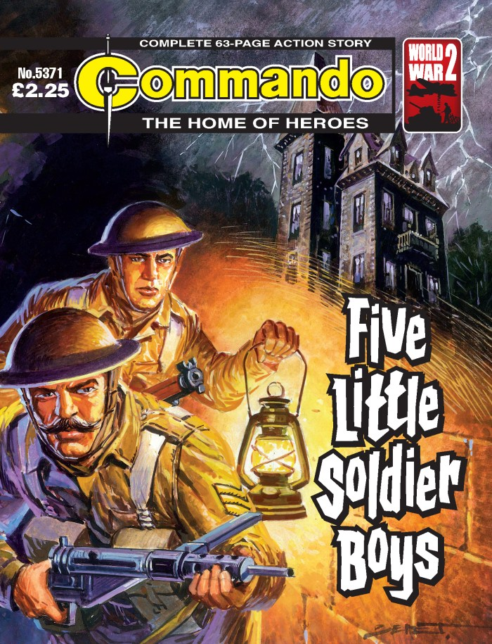 Commando 5371: Home of Heroes: Five Little Soldier Boys