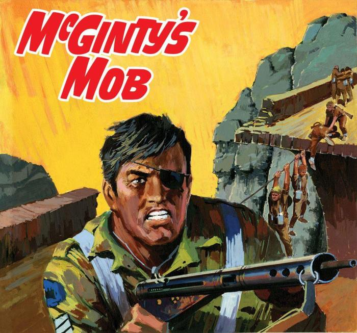 Commando 5372: Gold Collection: McGinty's Mob - Full Cover