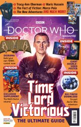 Doctor Who Magazine Issue 556