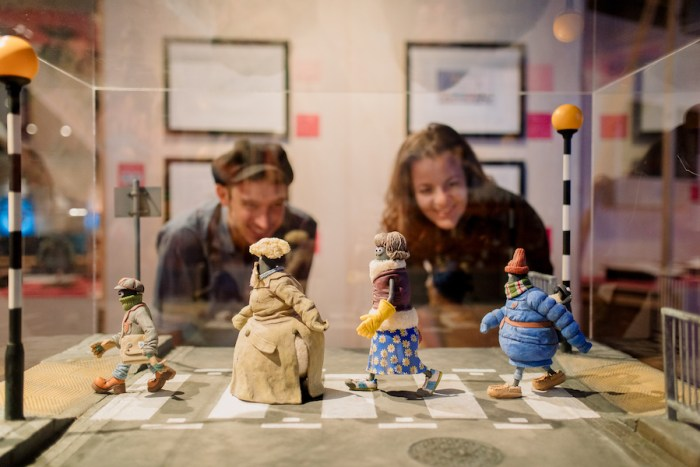 The Art of Aardman – Shaun the Sheep and Friends exhibition - Forum Groningen in the Netherlands