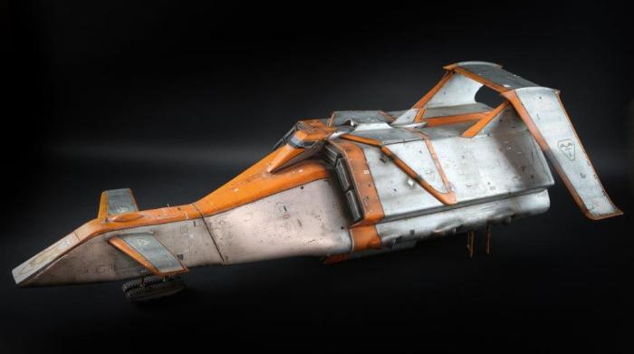 The Battlehawk from Gerry Anderson's Terrahawks