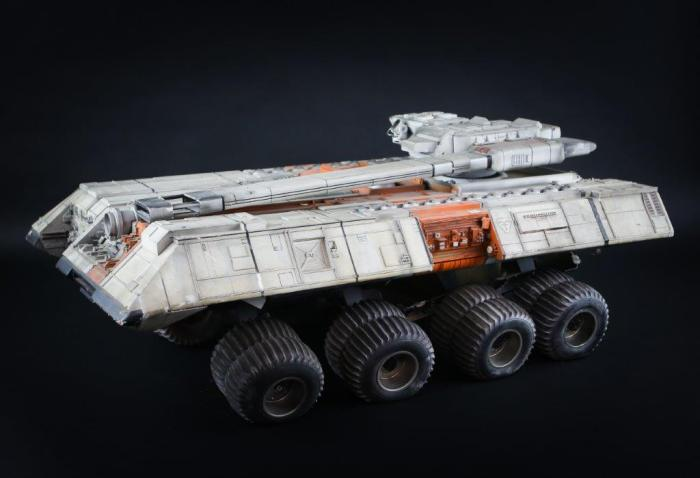 Fibreglass Space Tank used in the production of Terrahawks