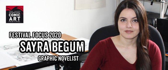 Lakes Festival Focus 2020: Graphic Novelist Sayra Begum