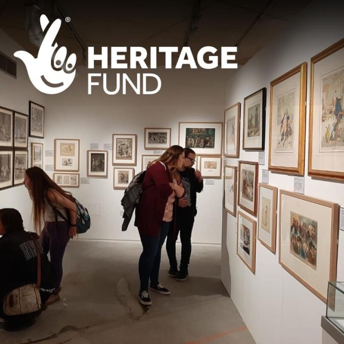 Cartoon Museum - Heritage Funded