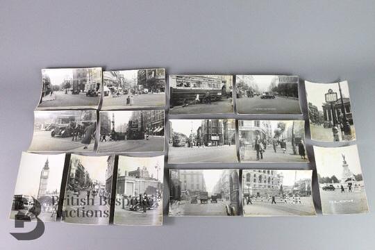 German Reconnaissance Photographs of London