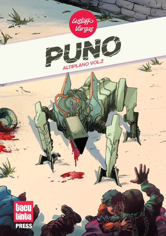 Puno by Gustaffo Vargas - Cover