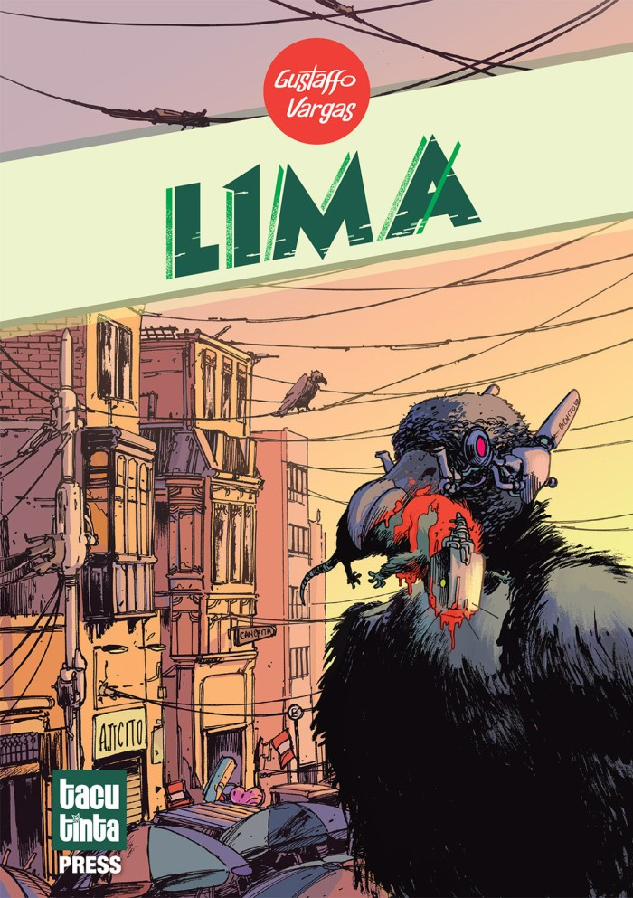 L1MA is a story about Pirañas, vultures, robots and rival gangs, following Lila and her street gang who find a very strange squid. It takes takes place in the same world of Puno