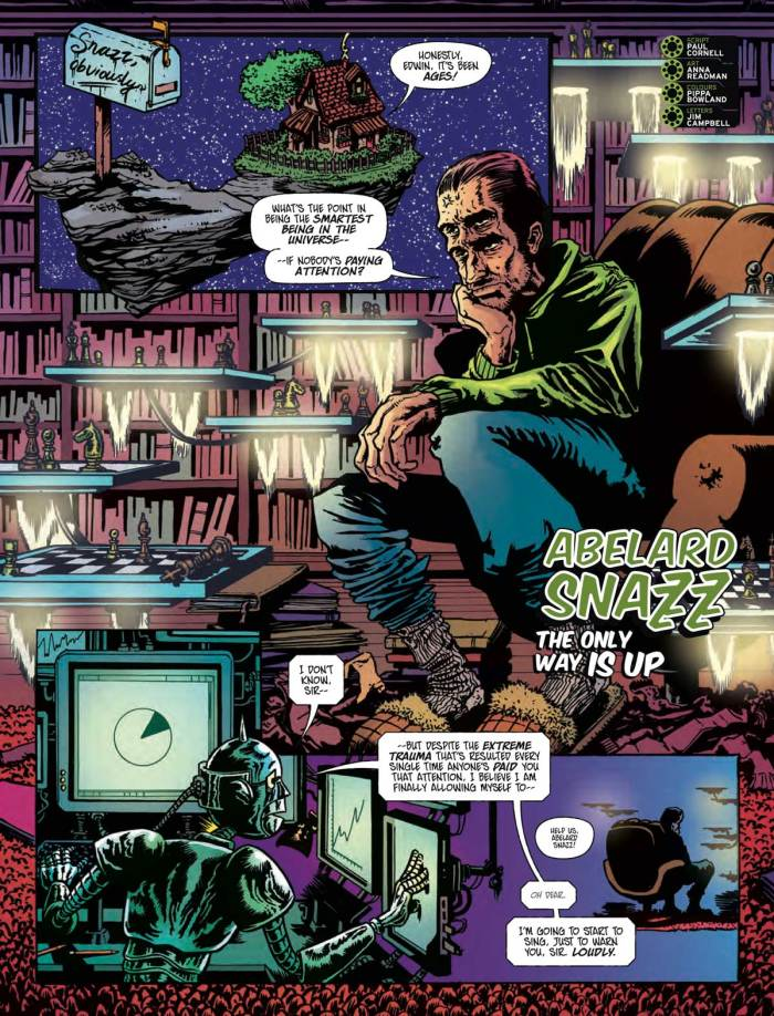 2000AD 2206 - Abelard Snazz: The Only Way Is Up