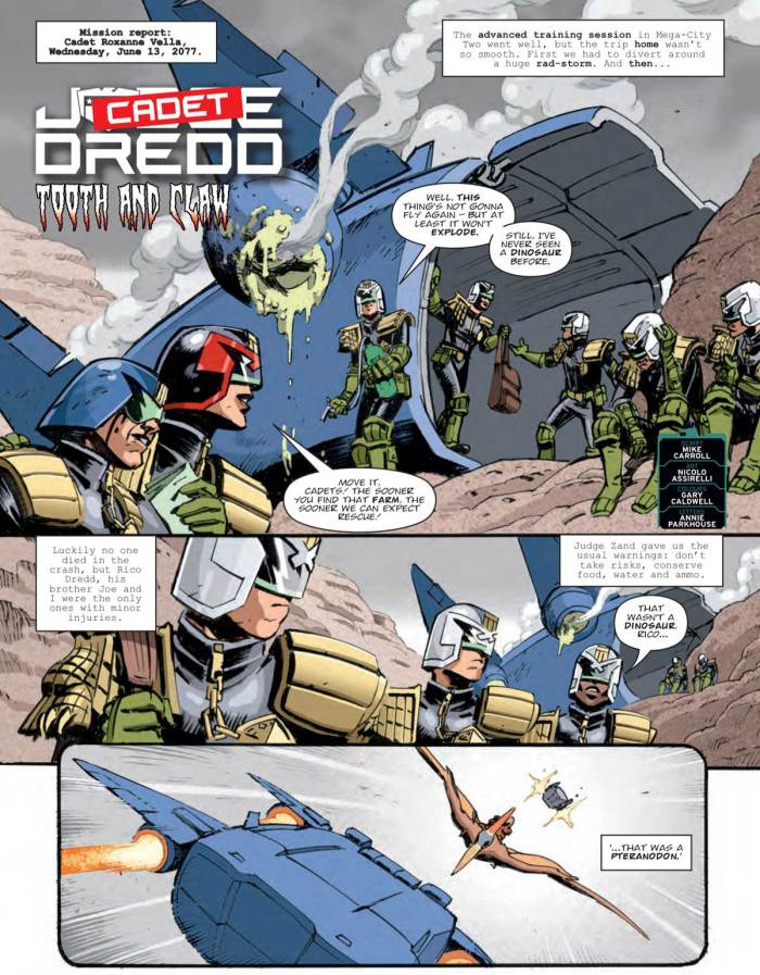 2000AD 2206 - Judge Dredd: Tooth and Claw