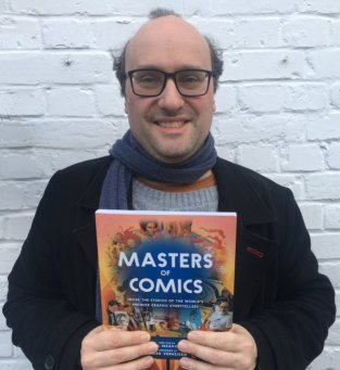 Joel Meadows, Editor and Publisher of Tripwire, author of Masters of Comics