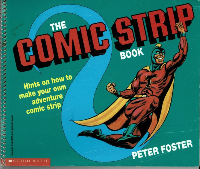 The Comic Strip Book by Peter Foster