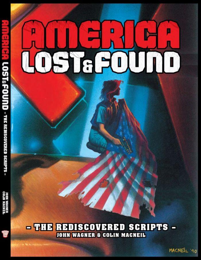 Judge Dredd - America, Lost & Found, The Rediscovered Scripts