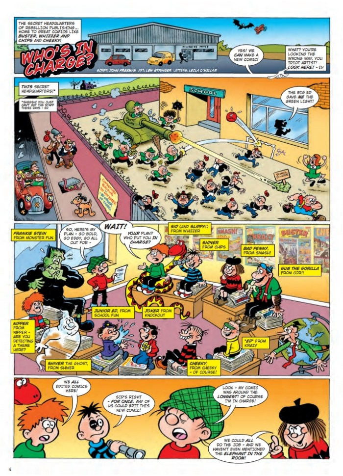 Cor!! Buster Bumper Fun Book - Sample Page
