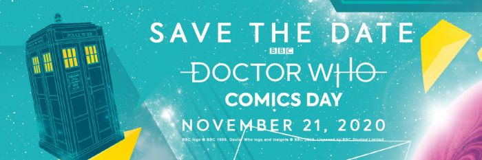 Doctor Who Comics Day 2020